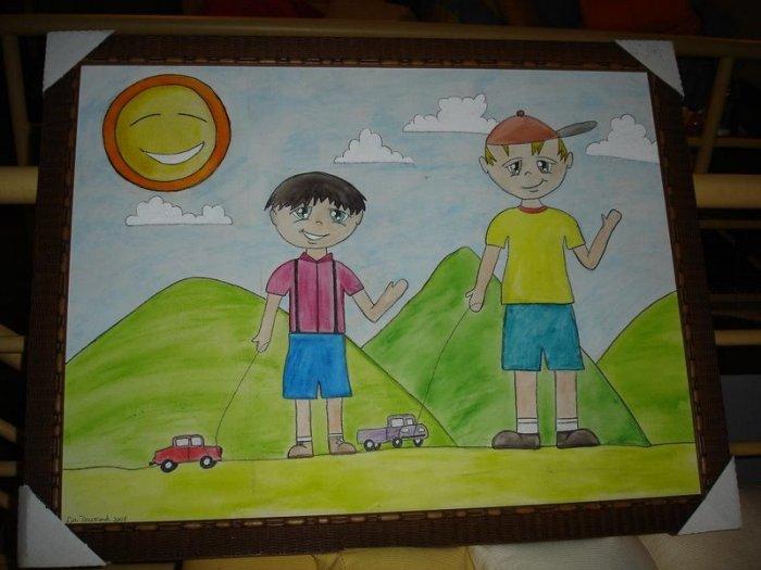 Américo e Thomas